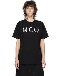McQ T-shirt a logo noir McQ Swallow