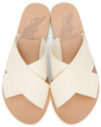 Ancient Greek Sandals - オフホワイト Thais サンダル - Lyst