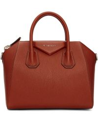 Givenchy - Brown Small Antigona Bag - Lyst