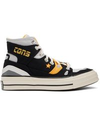 Converse Black And Yellow Chuck 70 E260 Sneakers