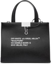 Off-White c/o Virgil Abloh Black Mini Box Tote