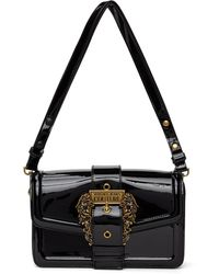 Versace Jeans Couture ブラック ショルダー バッグ