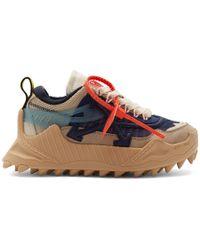 Off-White c/o Virgil Abloh Odsy-1000 Platform Sneakers - Blue