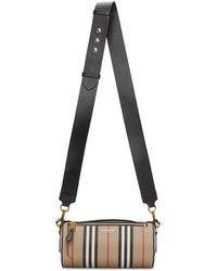 Burberry Sac beige Vintage Check Barrel - Neutre