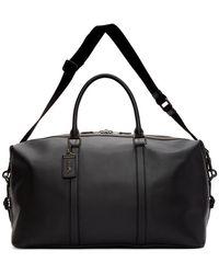 COACH Black Metropolitain Duffle Bag