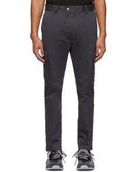 DIESEL Grey P-jared Cargo Trousers