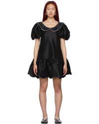 Kika Vargas ブラック Chiara ドレス