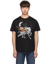 Givenchy Black Pegasus Lion T-shirt