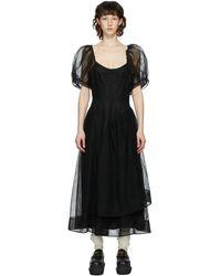 Simone Rocha - ブラック ドレス - Lyst