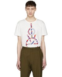 Ports 1961 - White Multi Love T-shirt - Lyst