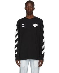 Off-White c/o Virgil Abloh T-shirt noir Diag Hand Card