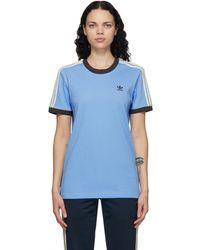 Wales Bonner Adidas Originals Edition ブルー ロゴ T シャツ