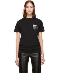 Loewe - Black Bird T-shirt - Lyst