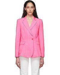Jacquemus La Veste Qui Vole Blazer - Pink