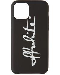 Off-White c/o Virgil Abloh ロゴ Iphone 11 Pro ケース - ブラック