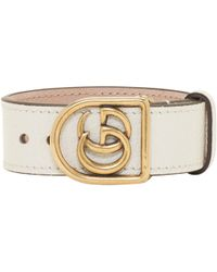 Gucci | White Gg Marmont Bracelet | Lyst
