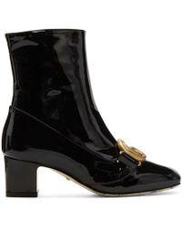 Gucci ブラック Victoire ブーツ