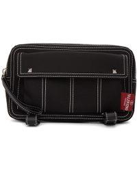 Valentino - Black Garavani Contrast Stitch Body Bag - Lyst