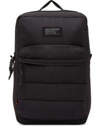 Levi's Black L Pack Backpack