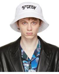 Stolen Girlfriends Club White Towel Bucket Hat