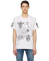 Givenchy - ホワイト Schematics T シャツ - Lyst