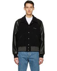 Acne Studios ブラック ボンバー ジャケット