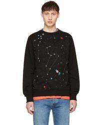 PS by Paul Smith - Black Milky Way Sweatshirt - Lyst