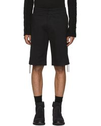 KTZ - Black Side Chainmail Shorts - Lyst