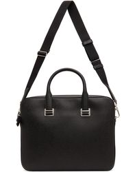 Dunhill Black Cadogan Single-gusset Briefcase