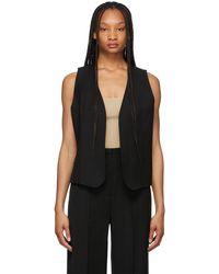 Totême - ブラック Pine Suit ベスト - Lyst