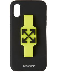 Off-White c/o Virgil Abloh Arrows フィンガー ップ Iphone Xr ケース - ブラック