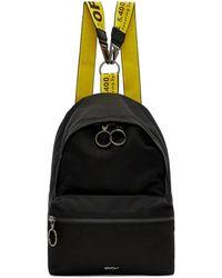 Off-White c/o Virgil Abloh Black Mini Backpack