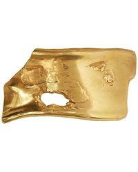 Alighieri Gold The Over-thinker Hair Tie - Metallic