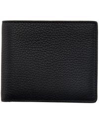 Maison Margiela Black Deerskin Bifold Wallet