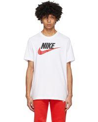 Nike Sportswear Camo-logo T-shirt - White