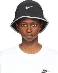 Nike Dri-fit Perforated Running Bucket Hat - Black