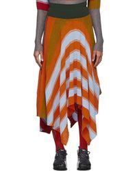 Kiko Kostadinov Multicolour Pistolera Skirt