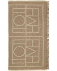 Totême  - Brown Cashmere Como Scarf - Lyst