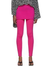 Balenciaga ピンク ツイル ミニスカート