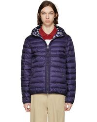 Moncler - Reversible Navy Down Oise Jacket - Lyst