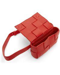 Bottega Veneta Pochette rouge 'The Belt Cassette' - Multicolore