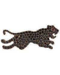 Gucci Bague double noire Tiger