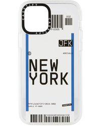 Casetify New York Jfk Iphone 12/12 Pro Impact Case - White