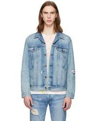 Levi's Blue Denim Trucker Jacket