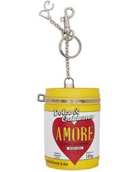 Dolce & Gabbana - Multicolor Amore Energy Can Keychain - Lyst