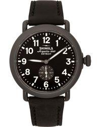 Shinola ブラック And ガンメタル The Runwell 41mm ウォッチ