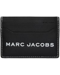 Marc Jacobs - Black Logo Tag Card Holder - Lyst
