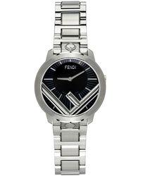 Fendi シルバー Run Away F Is 腕時計 - メタリック