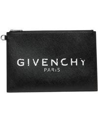 Givenchy ブラック Paris ポーチ
