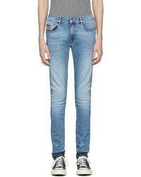 April77 - Blue Joey Kurt Deconstruct Jeans - Lyst